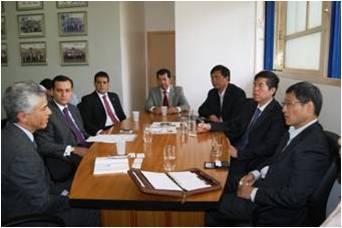 Resultado de imagem para reuniões com chineses
