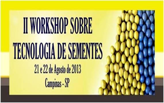 II WORKSHOP SOBRE TECNOLOGIA DE SEMENTES