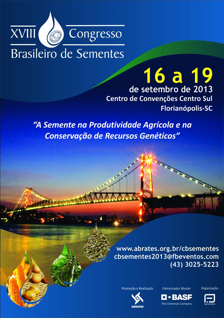 Flyer - XVIII Congresso de Sementes