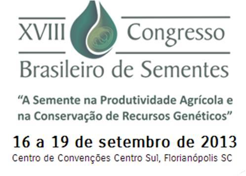 Logo -  XVIII Congresso de Sementes