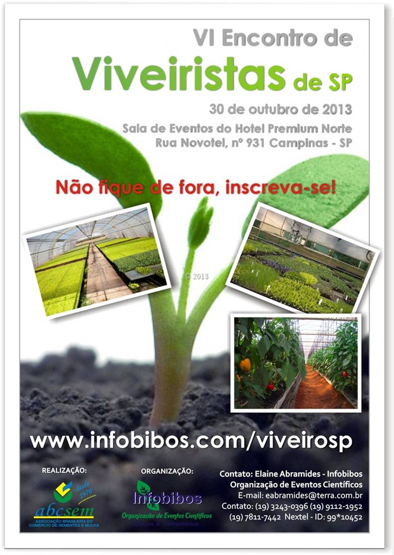 Flyer Encontro Viveiristas - SP - ABCSEM