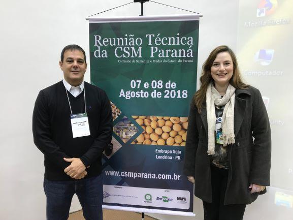 Reunião da Comissão de Sementes e Mudas no Paraná.