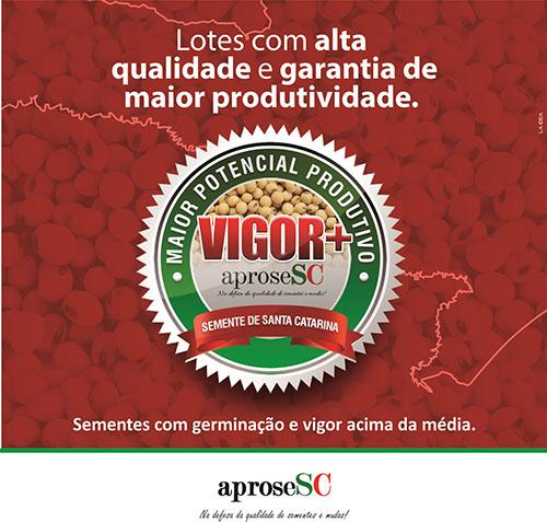 APROSESC lança selo que identifica qualidade da semente de soja de SC
