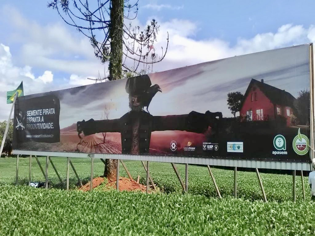 A ABRASEM e suas Associadas lançam campanha nacional de combate à pirataria no Show Rural COOPAVEL