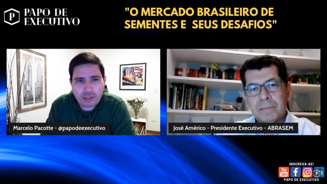 """Live sobre """"O Mercado Brasileiro de Sementes e Seus Desafios"""""""